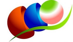 エネルギーと美しい地球を次の世代につなぐ エコエナジーの理念を表わしたロゴ